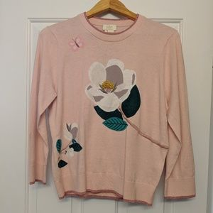 Kate Spade Broome Street Floral Sweater
